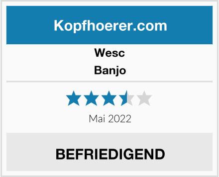 WeSC Banjo Test