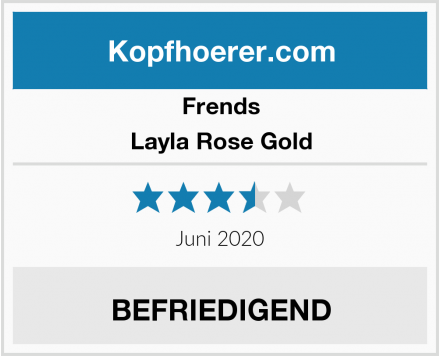 Frends Layla Rose Gold Test