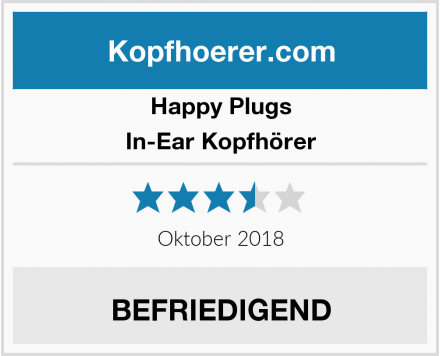 Happy Plugs In-Ear Kopfhörer Test