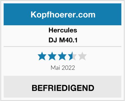 Hercules DJ M40.1 Test