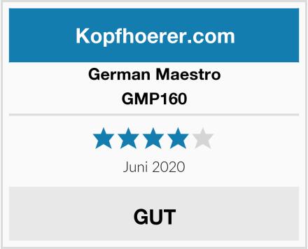 German Maestro GMP160 Test