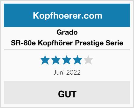 Grado SR-80e Kopfhörer Prestige Serie Test