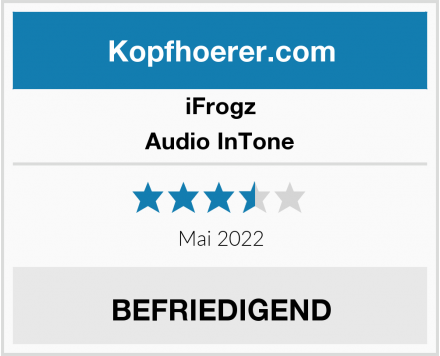 iFrogz Audio InTone Test