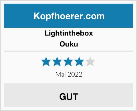 Lightinthebox Ouku Test