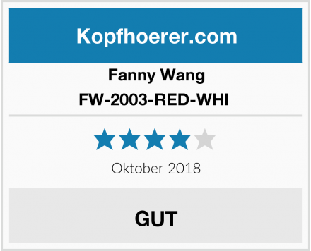 Fanny Wang FW-2003-RED-WHI  Test