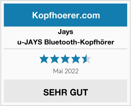 Jays u-JAYS Bluetooth-Kopfhörer Test