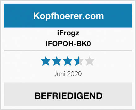 iFrogz IFOPOH-BK0 Test