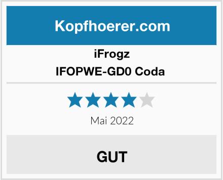 iFrogz IFOPWE-GD0 Coda  Test