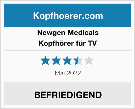 Newgen Medicals Kopfhörer für TV Test