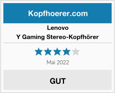 Lenovo Y Gaming Stereo-Kopfhörer Test