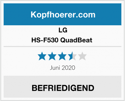 LG HS-F530 QuadBeat  Test