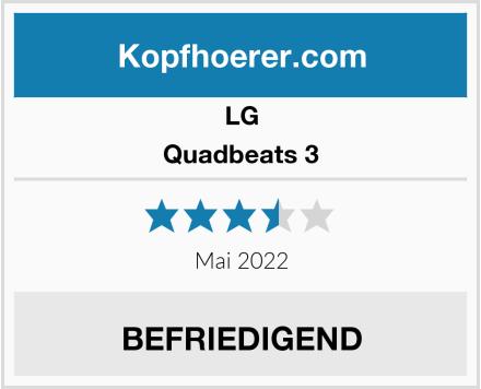 LG Quadbeats 3 Test
