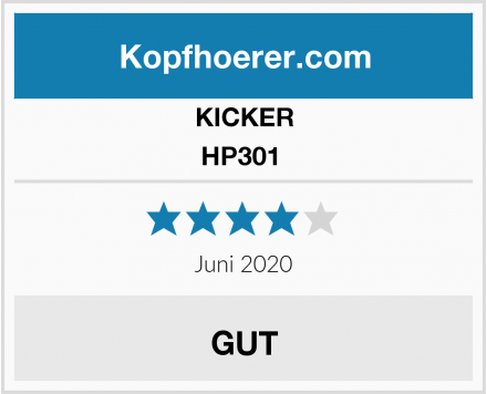 KICKER HP301  Test