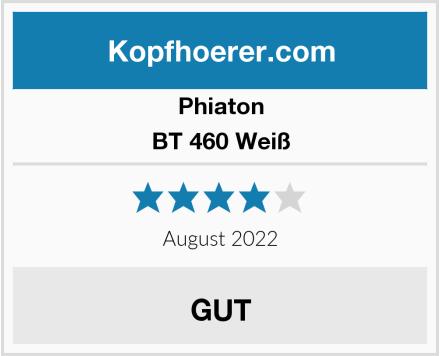 Phiaton BT 460 Weiß Test