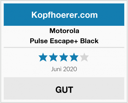 Motorola Pulse Escape+ Black Test