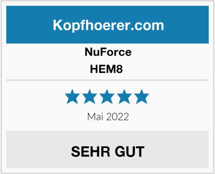 NuForce HEM8  Test