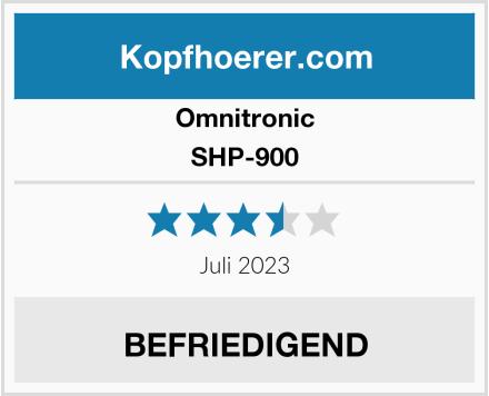 Omnitronic SHP-900  Test