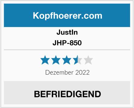 JustIn JHP-850 Test