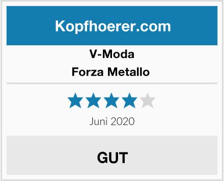 V-Moda Forza Metallo  Test