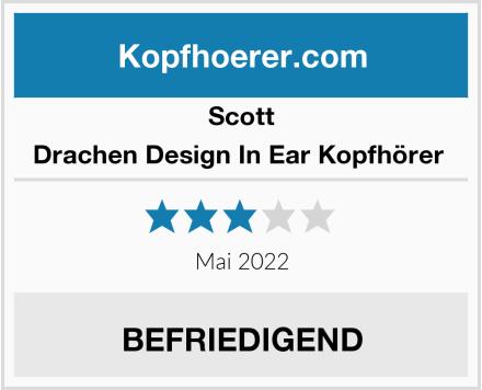 Scott Drachen Design In Ear Kopfhörer  Test