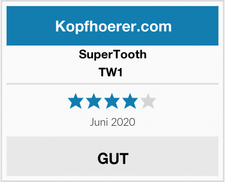 SuperTooth TW1  Test