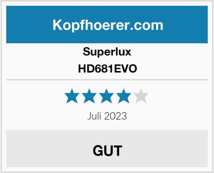 Superlux HD681EVO Test
