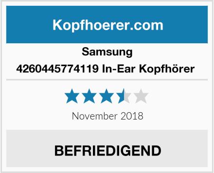 Samsung 4260445774119 In-Ear Kopfhörer  Test