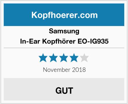 Samsung In-Ear Kopfhörer EO-IG935 Test
