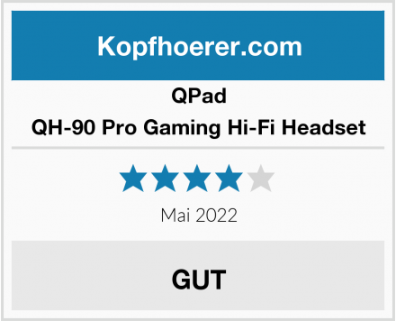QPad QH-90 Pro Gaming Hi-Fi Headset Test