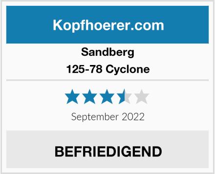 Sandberg 125-78 Cyclone Test