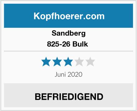 Sandberg 825-26 Bulk  Test