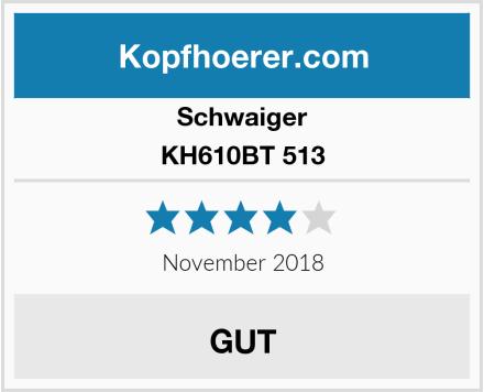 Schwaiger KH610BT 513 Test