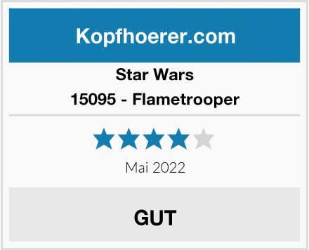 Star Wars 15095 - Flametrooper Test