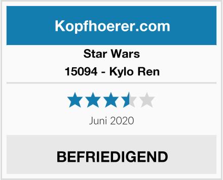 Star Wars 15094 - Kylo Ren Test