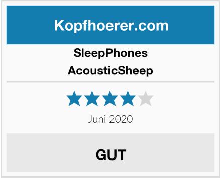 SleepPhones AcousticSheep Test
