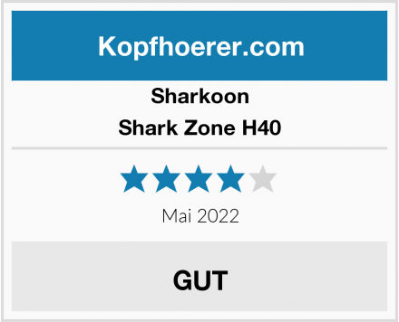 Sharkoon Shark Zone H40 Test
