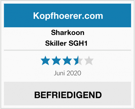 Sharkoon Skiller SGH1  Test