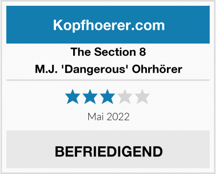 The Section 8 M.J. 'Dangerous' Ohrhörer Test