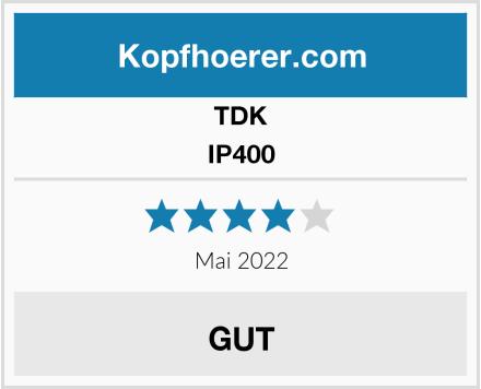TDK IP400 Test