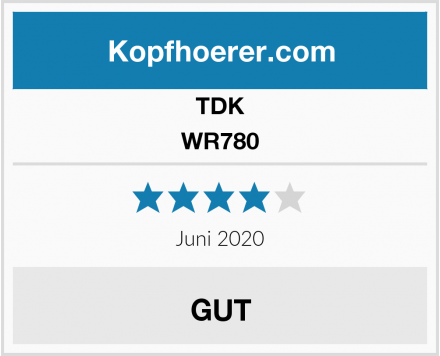 TDK WR780 Test