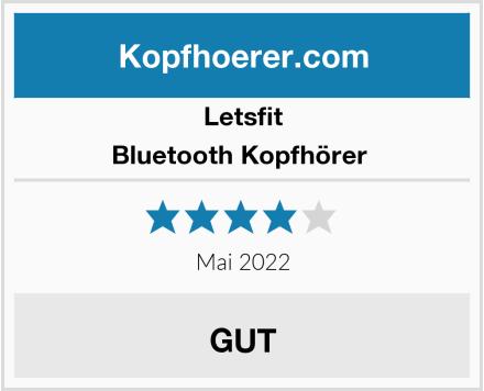 letsfit Bluetooth Kopfhörer  Test