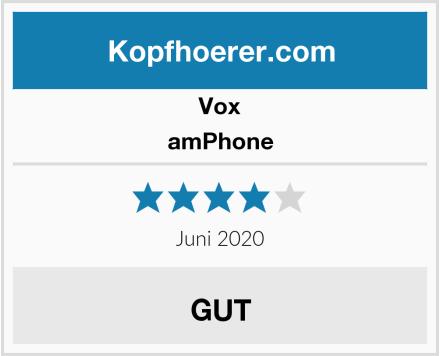 Vox amPhone Test