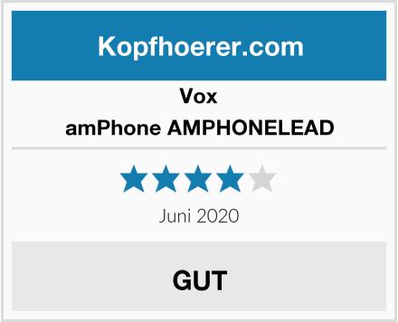 Vox amPhone AMPHONELEAD Test