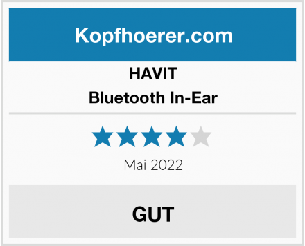 HAVIT Bluetooth In-Ear Test