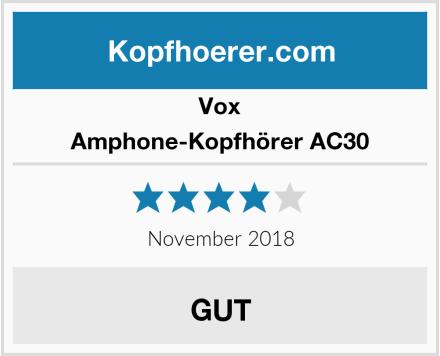 Vox Amphone-Kopfhörer AC30 Test