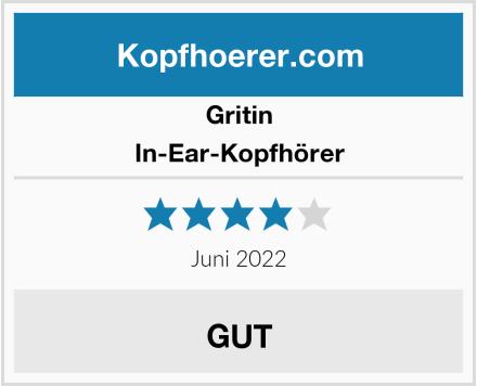Gritin In-Ear-Kopfhörer Test