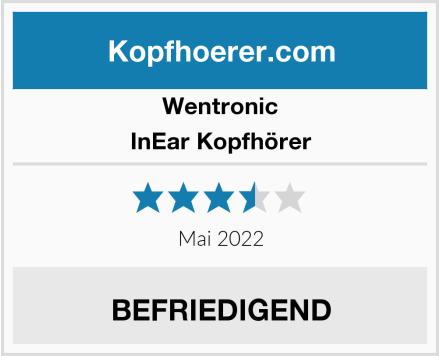 Wentronic InEar Kopfhörer Test