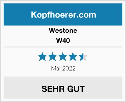 Westone W40 Test