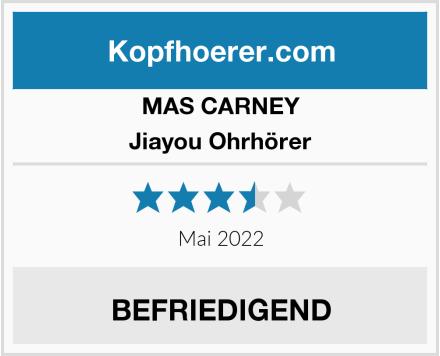 MAS CARNEY Jiayou Ohrhörer Test