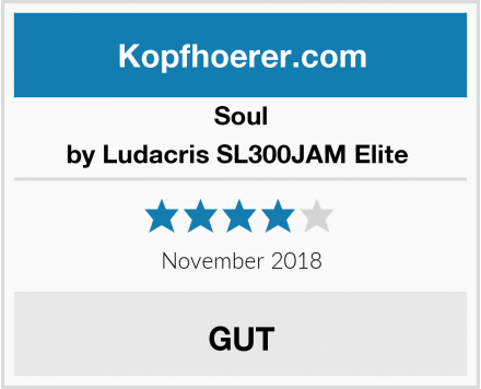 Soul by Ludacris SL300JAM Elite  Test